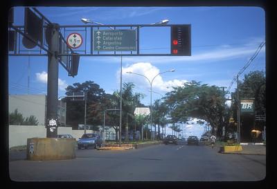 Foz do Iguazu, Brazil, in the tri-border region at the Paraguay/Argentina/Brazil border.