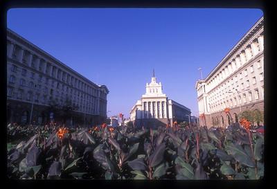 Government buildings, Sofia, Bulgaria.
