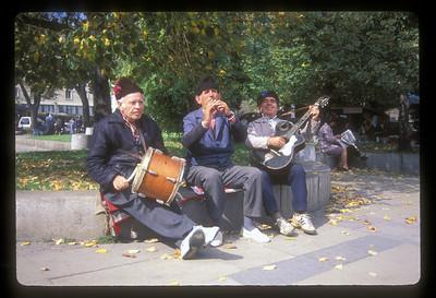 Street musicians, Sophia, Bulgaria.