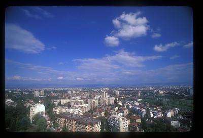Cityscape, Sophia, Bulgaria.