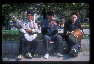 Street band, Sophia, Bulgaria.