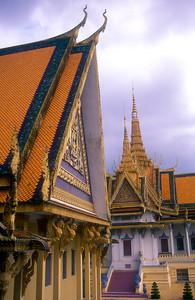 Royal compound, Phnom Penh, Cambodia.