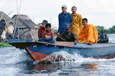 Lake Tonle Sap, Cambodia.