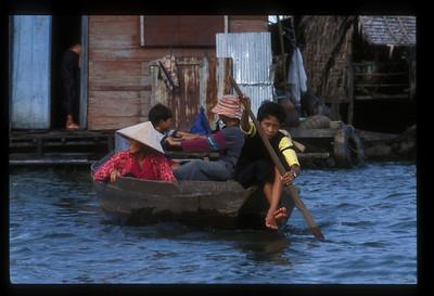 Floating village, Lake Tonle Sap, Cambodia.