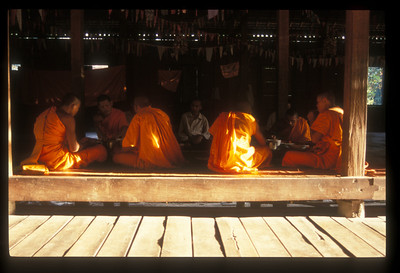 Monastery, Angkor Wat, Cambodia.