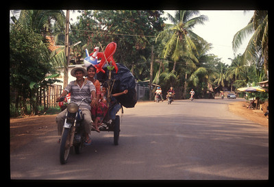 A little family fun, Siem Reap, Cambodia.