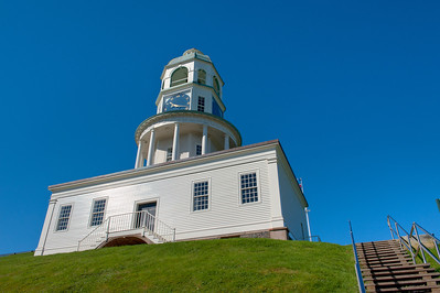 The town clock, Halifax, Nova Scotia, Canada.