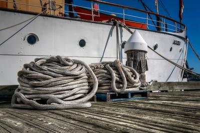 Halifax, Nova Scotia, Canada dock.