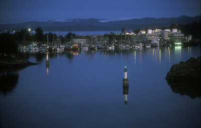 Harbor at Victoria, Vancouver Island, British Columbia, Canada.