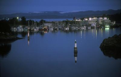 Harbor at Victoria, Vancouver Island, British Columbia, Canada.