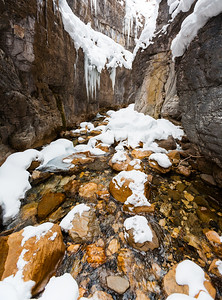 Winter Creek, Yoho Naitonal Park, British Columbia, Canada