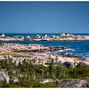Peggy's Cove, Nova Scotia, Canada HDR on Canvas.