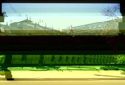 Parliament building, Santiago, Chile.