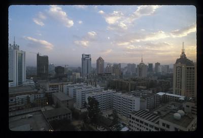 Kunming, China skyline.
