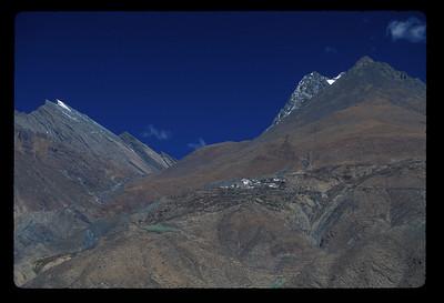 Mountain village, rural Tibet.