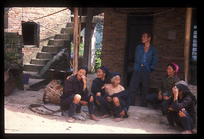 Residents of Yellow Grass village, Yunnan province, China.