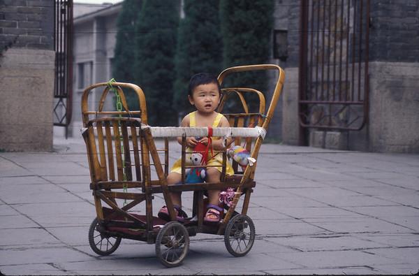 Baby at Summer Palace outside Beijing, China.