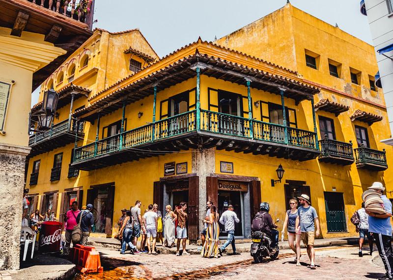 Cartagena Colonial Building