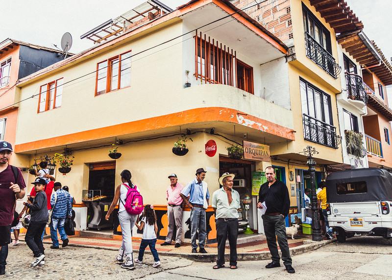 Guatape Street Corner