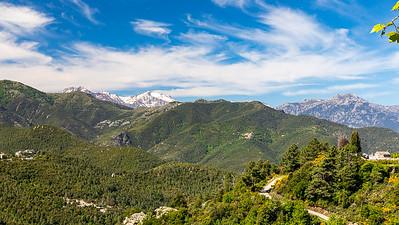 Sur la route de Morosaglia (Rostino - Haute Corse)