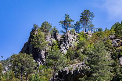 Gorges de la Restonica (Corte - Talcini - Haute Corse)