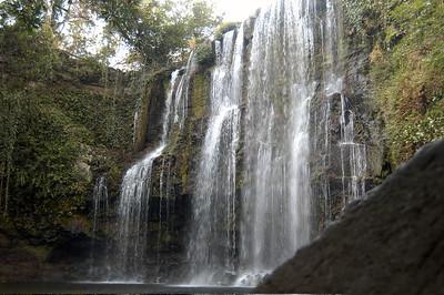 Waterfall, Guanacaste, Costa Rica.