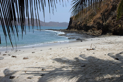 The beach at Playa del Coco, Costa Rica.