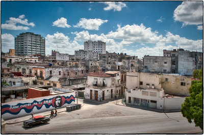 Havana, Cuba. View from the Presidential Mansion.