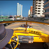 Taxi Ride through Havana, Cuba.