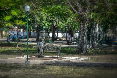 John Lennon Statue, Havana, Cuba.