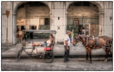 Taxi, Havana, Cuba.