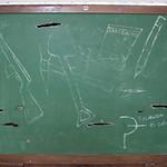 Chalkboard, Havana, Cuba.