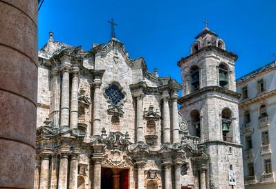 Catedral de la Virgen María de la Concepción Inmaculada de La Habana, Havana, Cuba - HDR