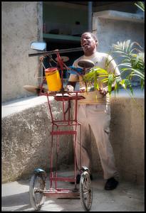One Man Band, Havana, Cuba.