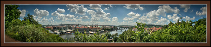 Panorama, Prague, Czech Republic.