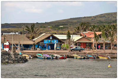 Waterfront, Easter Island (Rapa Nui).