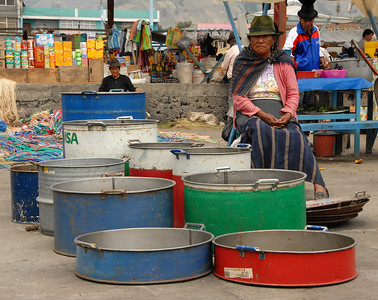 Washtubs for Sale, Ecuador