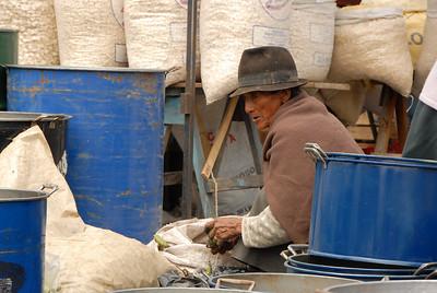 Vendor, Weekly Market, Ecuador