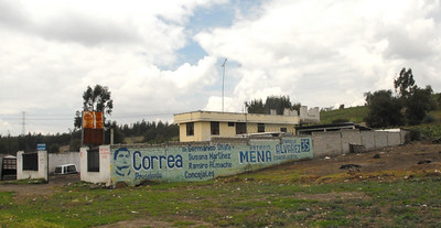 Political Graffiti, Ecuador