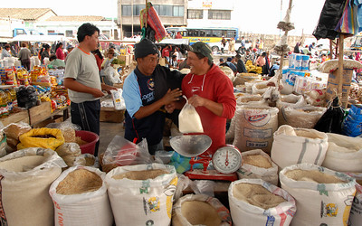 Weekly Market, Ecuador