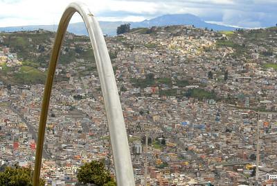 Quito Hillside, Ecuador