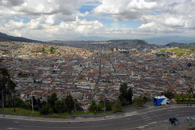 Above Quito, Ecuador.