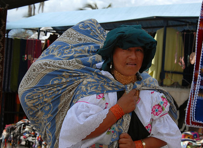 Vendor, Otavalo, Ecuador