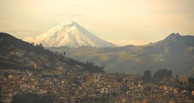 Mt. Cotopaxi from Quito, Ecuador