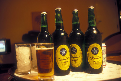 Stella beer, Cairo, Egypt.