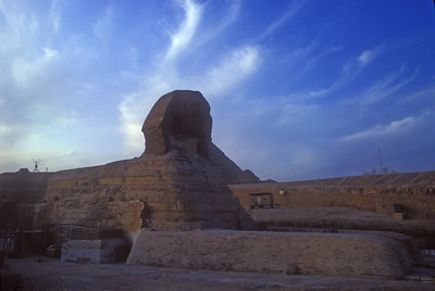 The Sphinx, Giza, Egypt.