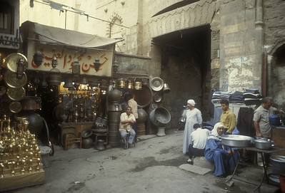 The Grand Bazaar, Cairo, Egypt.
