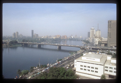 The River Nile at Cairo, Egypt.