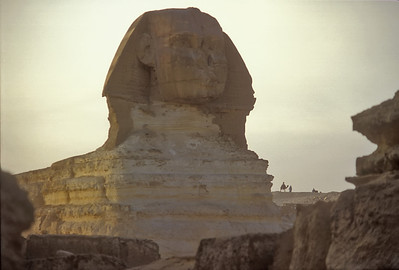 The Sphinx, Giza, Egypt.