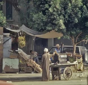 Street vendor, Cairo, Egypt.